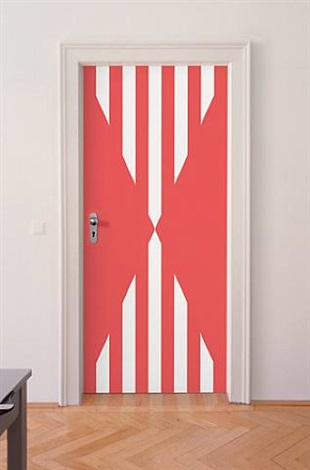 photo-souvenir : [sans titre – porte], édition by daniel buren
